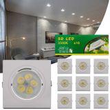 Kit-10-Spot-Super-LED-5W-Quadrada-Direcionavel-Dicroica-3500K-Amarelada-Bivolt-Aluminio-Embutir-CONNECTPARTS---1-