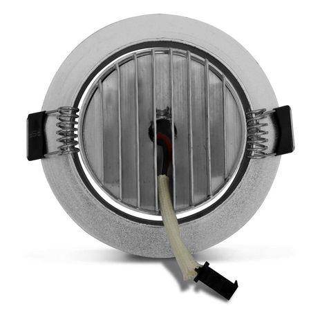 Kit-5-Spot-Super-LED-3W-Redonda-Direcionavel-Dicroica-6500K-Branca-Bivolt-Aluminio-Prata-Embutir-CONNECTPARTS---3-