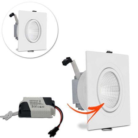 Kit-5-Spot-Super-LED-COB-7W-Quadrada-Direcionavel-Dicroica-3500K-Amarela-Bivolt-Aluminio-Embutir-connectparts---2-