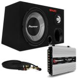 Caixa-Trio-Som-Automotivo-Completa-590W-RMS-Subwoofer-12-Pol---Tweeter---Corneta---Modulo-Taramps-connect-parts--1-