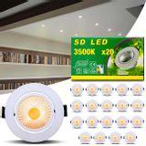 Kit-20-Spot-Super-LED-COB-7W-Redonda-Direcionavel-Dicroica-3500K-Amarelo-Bivolt-Aluminio-Embutir-connectparts---1-