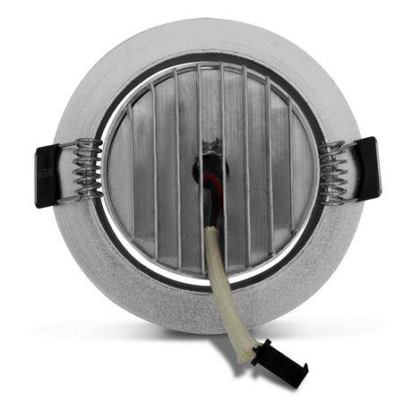 Kit-30-Spot-Super-LED-3W-Redonda-Direcionavel-Dicroica-6500K-Branca-Bivolt-Aluminio-Prata-Embutir-connectparts---3-
