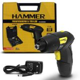 Parafusadeira-Mandril-Hammer-Bivolt-Sem-Fio-14-65mm-200-RPM---Maleta-44-Pecas-Preto-Amarelo-PF48K-connectparts---1-