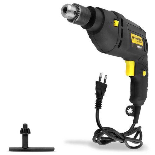 Furadeira-de-Impacto-Mandril-Hammer-38-Polegadas-110V-2.800-RPM-550W-Preta-e-Amarelo-FI-1000-connectparts---1-