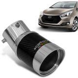 Ponteira-de-Escapamento-Carbox-Racing-HB20-Angular-Redonda-Carbono-Aluminio-connectparts---1-