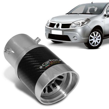 Ponteira-de-Escapamento-Carbox-Racing-Sandero-Ate-2014-Extreme-Turbo-Carbono-Aluminio-Polido-connectparts---1-
