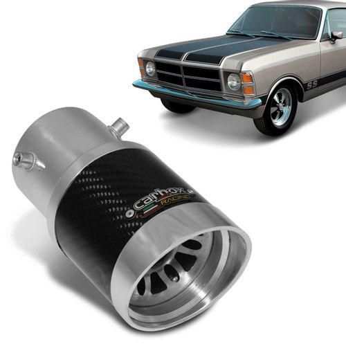 Ponteira-de-Escapamento-Carbox-Racing-Opala-Extreme-Turbo-Carbono-Aluminio-Polido-connectparts---1-