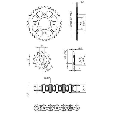 Kit-Relacao-Transmissao-Dafra-Next250-2013-2018-D00344X-Xtreme-connectparts---3-