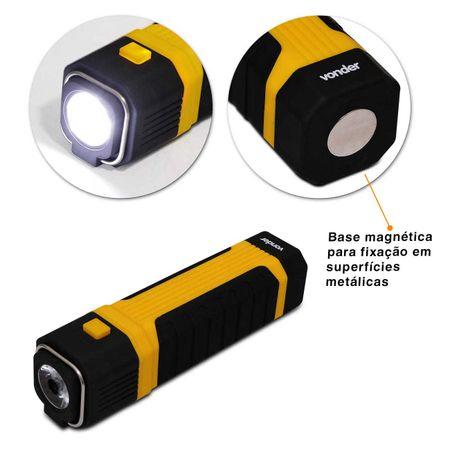 Lanterna-Led-Vonder-2-em-1-LLV201-Luz-Pendente-e-Luz-Frontal-Com-Base-Magnetica-e-Corpo-Emborrachado-connectparts---2-