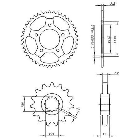 Kit-Coroa-Pinhao-Honda-CBR600-1998-A-2004-Temperada-Preta-HCP0013T-Vaz-connectparts---3-