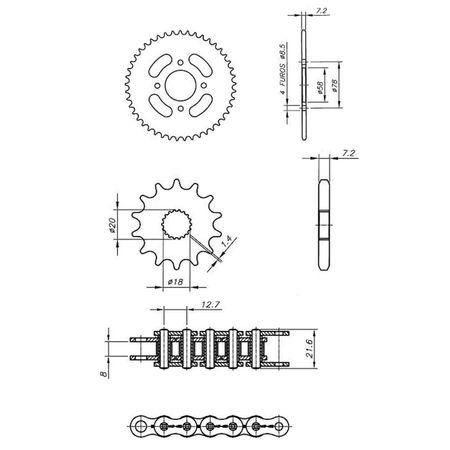Kit-Relacao-Transmissao-Suzuki-Intruder-125-2001-2018-S01250X-Xtreme-connectparts---3-