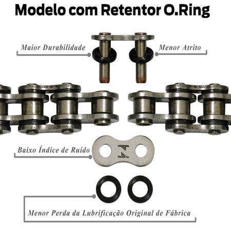 Kit-Relacao-Transmissao-Honda-CG125KS-ES-Titan-2000-A-2005-Temperada-Preta-H01196X-Xtreme-connectparts---4-