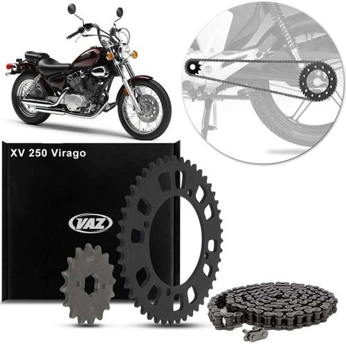 Kit-Relacao-Transmissao-Yamaha-XV250-Virago-1989-A-2008-Y01457X-Xtreme-connectparts---1-