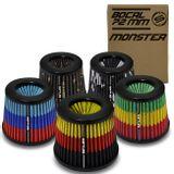 Filtro-de-Ar-Esportivo-Tunning-DuploFluxo-Monster-72mm-Conico-Lavavel-Especial-Shutt-Maior-Potencia-connectparts--1-
