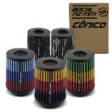 Filtro-de-Ar-Esportivo-Tunning-DuploFluxo-Alto-72mm-Conico-Lavavel-Especial-Shutt-Maior-Potencia-connectparts--1-