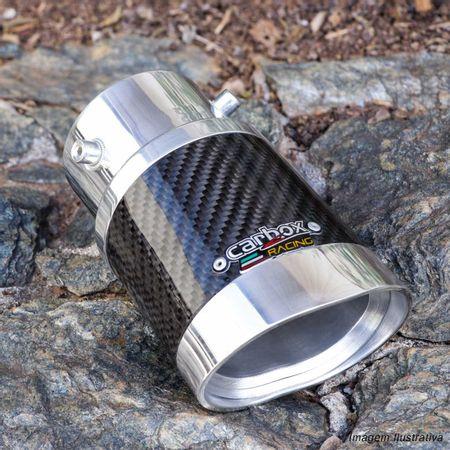 Ponteira-de-Escapamento-Carbox-Racing-Elite-Fusion-2005-a-2019-Carbono-Angular-Oval-Aluminio-Polido-connectparts---5-