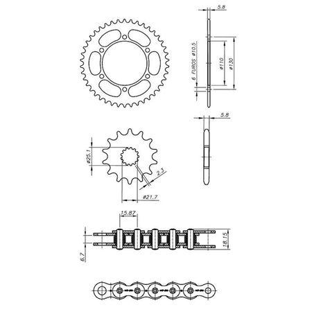 Kit-Relacao-Transmissao-Yamaha-MT03-321-520-2016-2018-Y04582X-Xtreme-connectparts---3-
