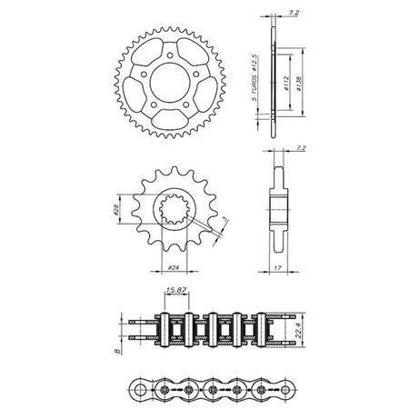 Kit-Relacao-Transmissao-Honda-CBR600F-Hornet-1997-A-2007-H00079X-Xtreme-connectparts---3-