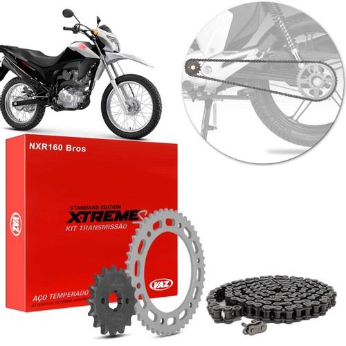 Kit-Relacao-Transmissao-Honda-NXR160-Bros-2015-2018-H04003X-Xtreme-connectparts---1-