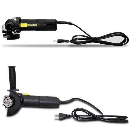 Esmerilhadeira-Angular-Hammer-12-115mm-110V-11.000-RPM-850W-Empunhadura-Preto-e-Amarelo-EM8504-connectparts---2-