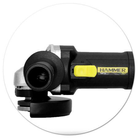 Esmerilhadeira-Angular-Hammer-12-115mm-110V-11.000-RPM-850W-Empunhadura-Preto-e-Amarelo-EM8504-connectparts---3-