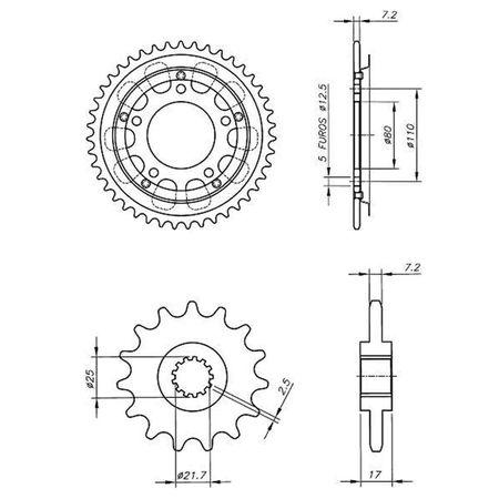 Kit-Coroa-Pinhao-Honda-CB500R-S-T-V-W-1994-A-1998-HCP0011T-Vaz-connectparts---3-