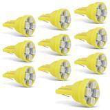 Kit-10-Lampadas-LED-T10-W5W-Pingo-4-LEDs-2W-12V-Luz-Amarela-connectparts---1-