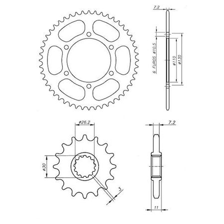 Kit-Coroa-Pinhao-Yamaha-MT07-2014-A-2016-YCP0047T-Vaz-connectparts---3-