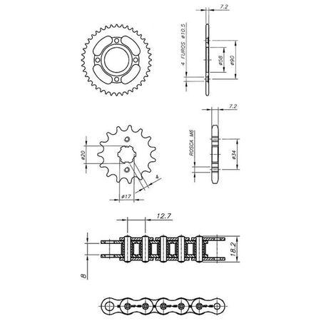 Kit-Relacao-Transmissao-Kasinski-Seta-125-2007-A-2008-D00320X-Xtreme-connectparts---3-
