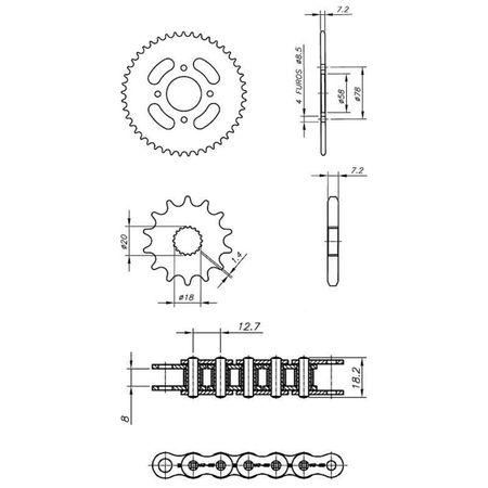 Kit-Relacao-Transmissao-Suzuki-Intruder-125-2001-2018-S00182XS-Xtreme-connectparts---3-