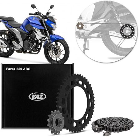 Kit-Relacao-Transmissao-Yamaha-Fazer-250-ABS-2018-2018-Y04594X-Xtreme-connectparts---1-