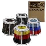 Filtro-de-Ar-Esportivo-Tunning-DuploFluxo-Monster-62mm-Conico-Lavavel-Especial-Shutt-Base-Cromada-connectparts---1-