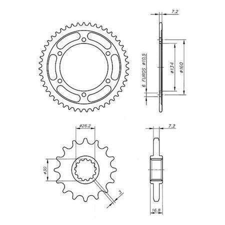 Kit-Coroa-Pinhao-Honda-CBR600RR-2007-A-2015-HCP0038T-Vaz-connectparts---3-