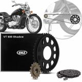 Kit-Relacao-Transmissao-Honda-VT600-Shadow-1990-A-2006-Temperada-Preta-H02243X-Xtreme-connectparts---1-