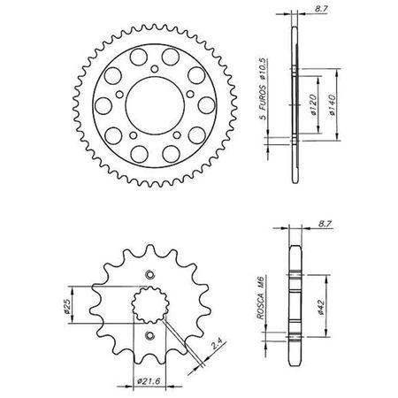 Kit-Coroa-Pinhao-Suzuki-GSXR1000-Srad-2007-A-2008-SCP0028T-Vaz-connectparts---3-