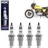 Kit-Jogo-4-Velas-de-Ignicao-Iridium-NGK-Honda-CB-400-Four-DR8EIX-connectparts---1-