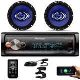 Kit-MP3-Player-Pioneer-MVH-X300BR-1-Din-BT-Android-iOS-Mixtrax---Alto-Falante-Hurricane-6-130W-RMS-connectparts---1-