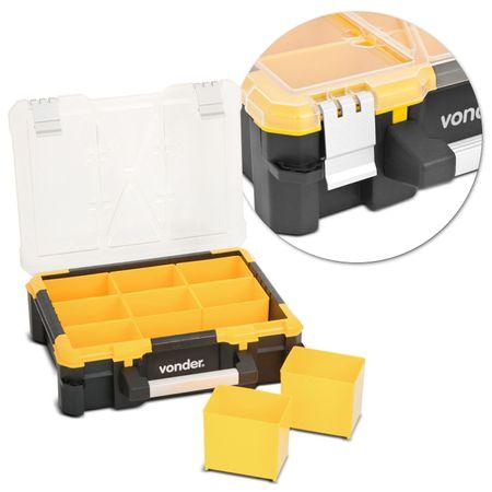 Caixa-Organizadora-Plastica-Vonder-OPV0500-9-Gavetas-17Kg-Amarelo-connectparts--1-