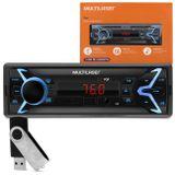 Mp3-Player-Automotivo-Multilaser-Pop-P3335-1-Din-Fm-Sd-Usb-Aux-Wma-4X25W---Pen-Drive-8Gb-connectparts---1-