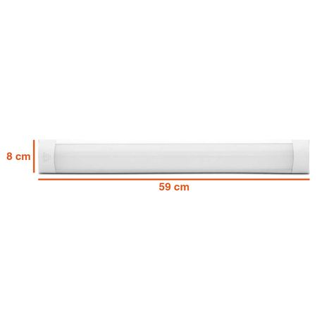 Kit-10-Luminaria-Tubular-Led-Sobrepor-Slim-20W-Branco-Frio-60cm-6000K-Bivolt-Teto-Calha-Completa-connectparts---2-