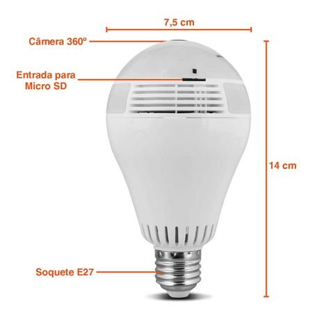 Lampada-LED-Espia-Camera-Seguranca-Wifi-Panoramica-360°-Full-HD-Microfone-App-Android-iOS-SD-Bivolt-connectparts---2-