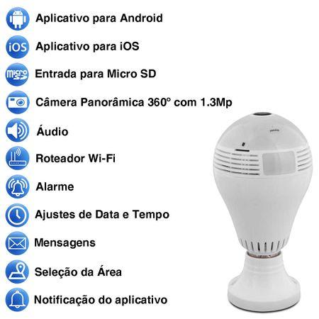 Lampada-LED-Espia-Camera-Seguranca-Wifi-Panoramica-360°-Full-HD-Microfone-App-Android-iOS-SD-Bivolt-connectparts---4-