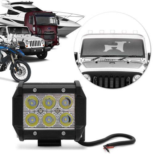 Farol-de-Milha-Quadrado-Universal-6-LEDs-6000K-Carro-Moto-Caminhao-Jeep-connectparts---1-