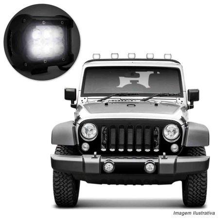 Farol-de-Milha-Quadrado-Universal-6-LEDs-6000K-Carro-Moto-Caminhao-Jeep-connectparts---4-