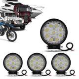 Kit-4x-Farol-de-Milha-Redondo-Universal-27W-9-LEDs-6000K-Branco-Carro-Moto-Caminhao-Jeep-connectparts--1-