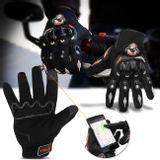 Luva-para-Motociclista-Antiderrapante-com-Sensibilidade-Touch-Screen-Fibra-de-Carbono-Preta-connectparts---1-