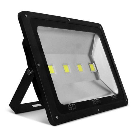 Kit-20-Refletor-Led-Holofote-Slim-200W-Bivolt-IP66-6000K-Branco-Frio-Resistente-Agua-Fachada-12-Leds-connectparts---2-