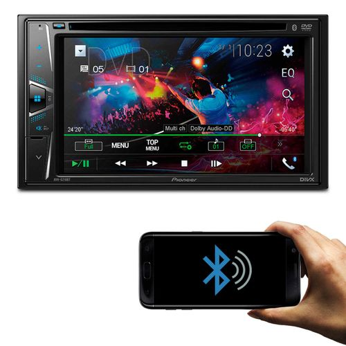 Central-Multimidia-Receiver-Pioneer-Avh-G218Bt-2-Din-Bluetooth-Dvd-Usb-Aux-Mp3-Am-Fm-Espelhamento-connectparts---1-