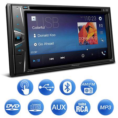 Central-Multimidia-Receiver-Pioneer-Avh-G218Bt-2-Din-Bluetooth-Dvd-Usb-Aux-Mp3-Am-Fm-Espelhamento-connectparts---2-