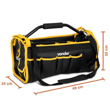 Bolsa-Organizador-em-Lona-Vonder-BL004-Preto-e-Amarelo-com-Cabo-Tubular-CONNECTPARTS---3-